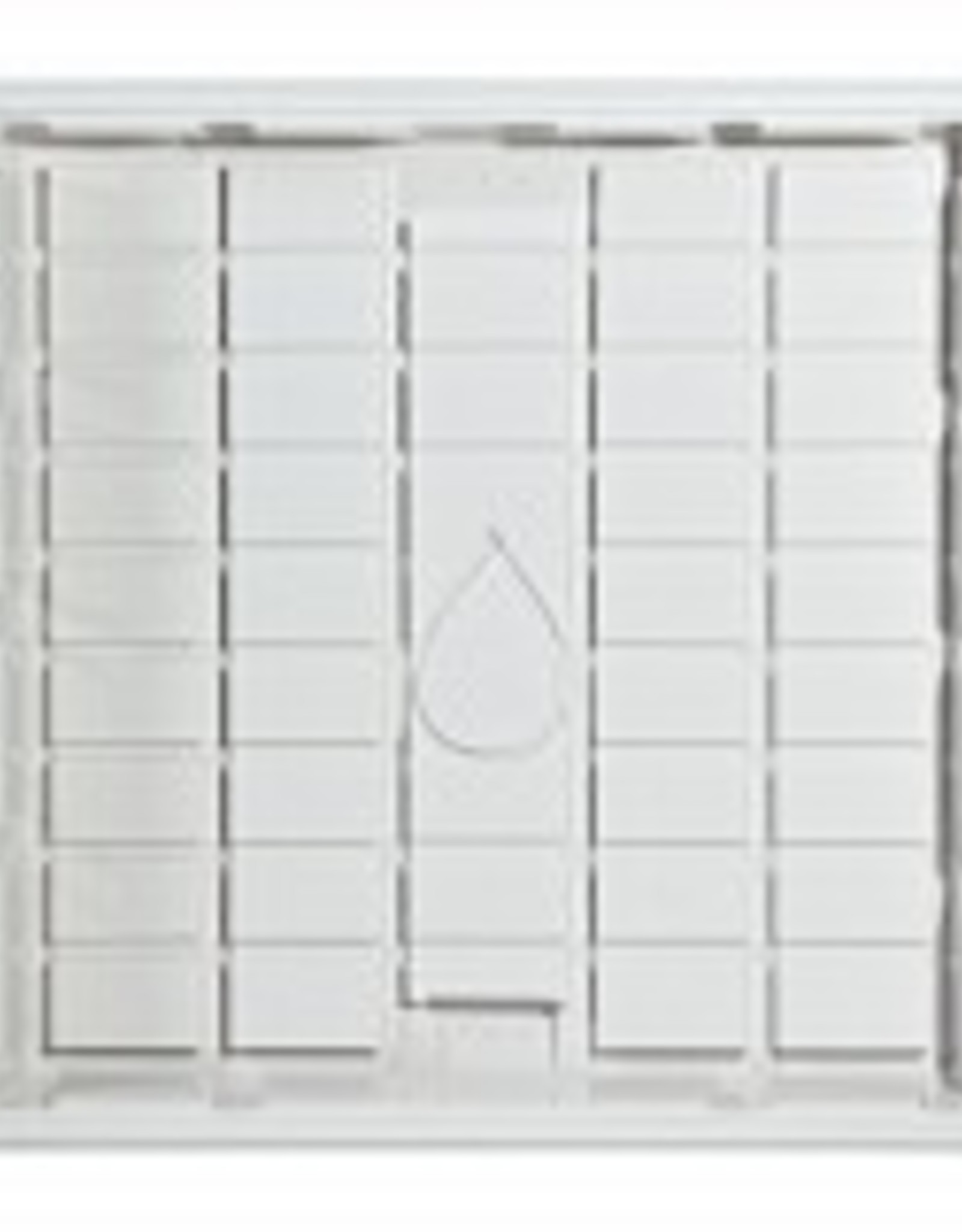 BOTANICARE Botanicare ID White 4ft x 4ft Grow Tray