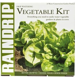 RAINDRIP Drip Vegetable Garden Kit and Anti-Syphon