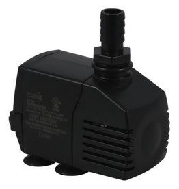 ECOPLUS These submersible water pumps are great for everything from fountains to hydroponic systems. The pumps have an inside threaded fittings and the flow is non-adjustable. Powerful oil-free, rare earth rotor magnet. Ceramic shaft and bearing insures reliabili