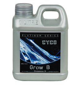 CYCO Cyco Grow A and B give support to a plants natural growth by supplying a range of macro and micro nutrients, which are needed to give a plant the best possible start in its early development. Calcium, iron, manganese, copper, sodium and zinc are just a fe