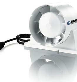 """Blauberg Blauberg 4"""" Axial Inline Intake/Exhaust Fan, 53 CFM"""