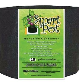 SMARTPOTS The Smart Pot® is a soft-sided aeration container that air root prunes your plants. Air root pruning is a key component to a healthy fibrous root ball. Unlike plastic containers, roots do not circle. Instead, air root pruning creates a more fibrous root s