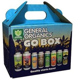 GENERAL ORGANICS Includes 1 16oz BioThrive Grow, 1 16oz BioThrive Bloom, 1 8oz CaMg+, 1 8oz BioRoot, 1 8oz BioWeed, 1 8oz BioBud, 1 8oz BioMarine, 1 8oz Diamond Black