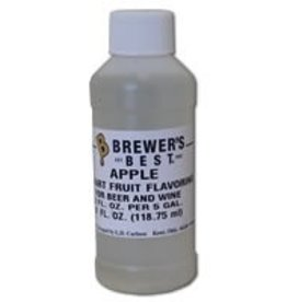 BREWERS BEST APPLE FLAVORING EXTRACT 4 OZ ARTIFICIAL/NATURAL FLAVORS