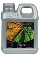 CYCO Cyco Dr. Repair treats the yellowing of leaf tissue due to a lack of chlorophyll, known as chlorosis. Possible causes of chlorosis include poor drainage, damaged or compacted roots, high alkalinity, and deficiencies of iron and other nutrients in the plan