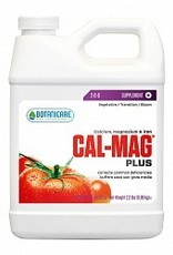 BOTANICARE Cal-Mag Plus™ is a bio-catalyst for plants. A beneficial plant nutrient correcting the inherent problem of calcium, magnesium and iron mineral deficiencies found in most soil fertilizers and some hydroponic nutrient liquid concentrated formulas.<br />