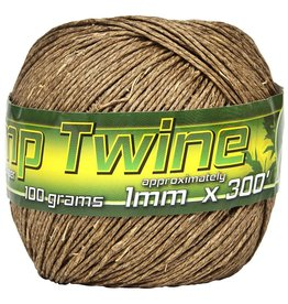 BWGS Smart Support Hemp Twine, 1mm, 301'
