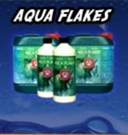 HOUSE & GARDEN House & Garden's Aqua Flakes A&B is a two part base nutrient designed for recirculating hydroponics systems. Aqua Flakes A&B liquid formulation contains no bulking agents or additional additives. House & Garden's Aqua Flakes A&B nutrient provides the plan