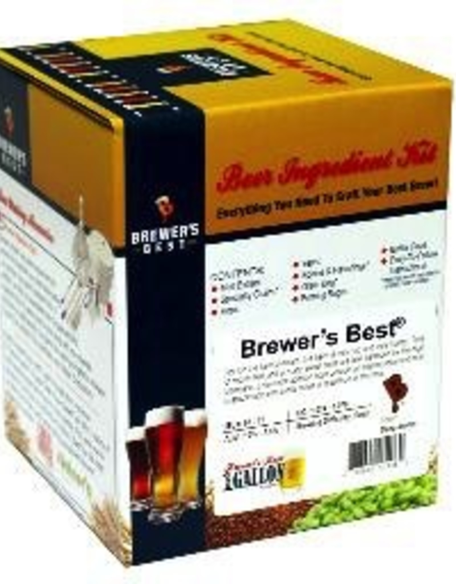 BREWERS BEST AMERICAN WHEAT BEER ONE GALLON INGREDIENT PACKAGE