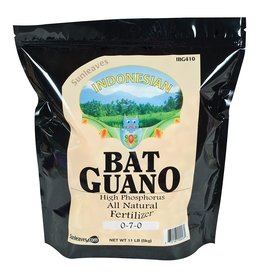SUN LEAVES Sunleaves Indonesian Bat Guano, 11 lb
