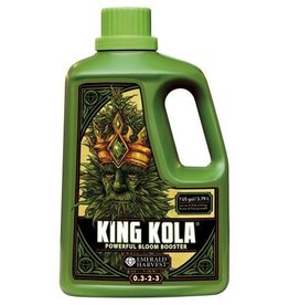 Emerald Harvest Get the most benefit from every flower in your garden with Emerald Harvest® King Kola®. A powerful bloom booster designed to create bigger, denser blossoms, King Kola® provides the essential elements your crops need to burst forth in heavy buds and flower
