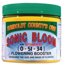 Emerald Triangle Sonic Bloom (Sunshine Powder) contains 20 times the vitamin B1 of other popular boosts Plus heavy doses of B2, B3, B6 that put this product in its own class. Increases the size and mass of flowers and stimulates resinous oil and fragrance production in ma