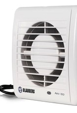 "BLAUBERG Blauberg 6"" Axial Inline Fan, Wall/Ceiling, 175 CFM"