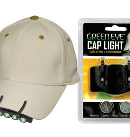 GREENEYE LED CAP LIGHT