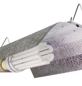 SUNLIGHT SUPPLY Bright Wing Reflector Grow Lamp Fixture