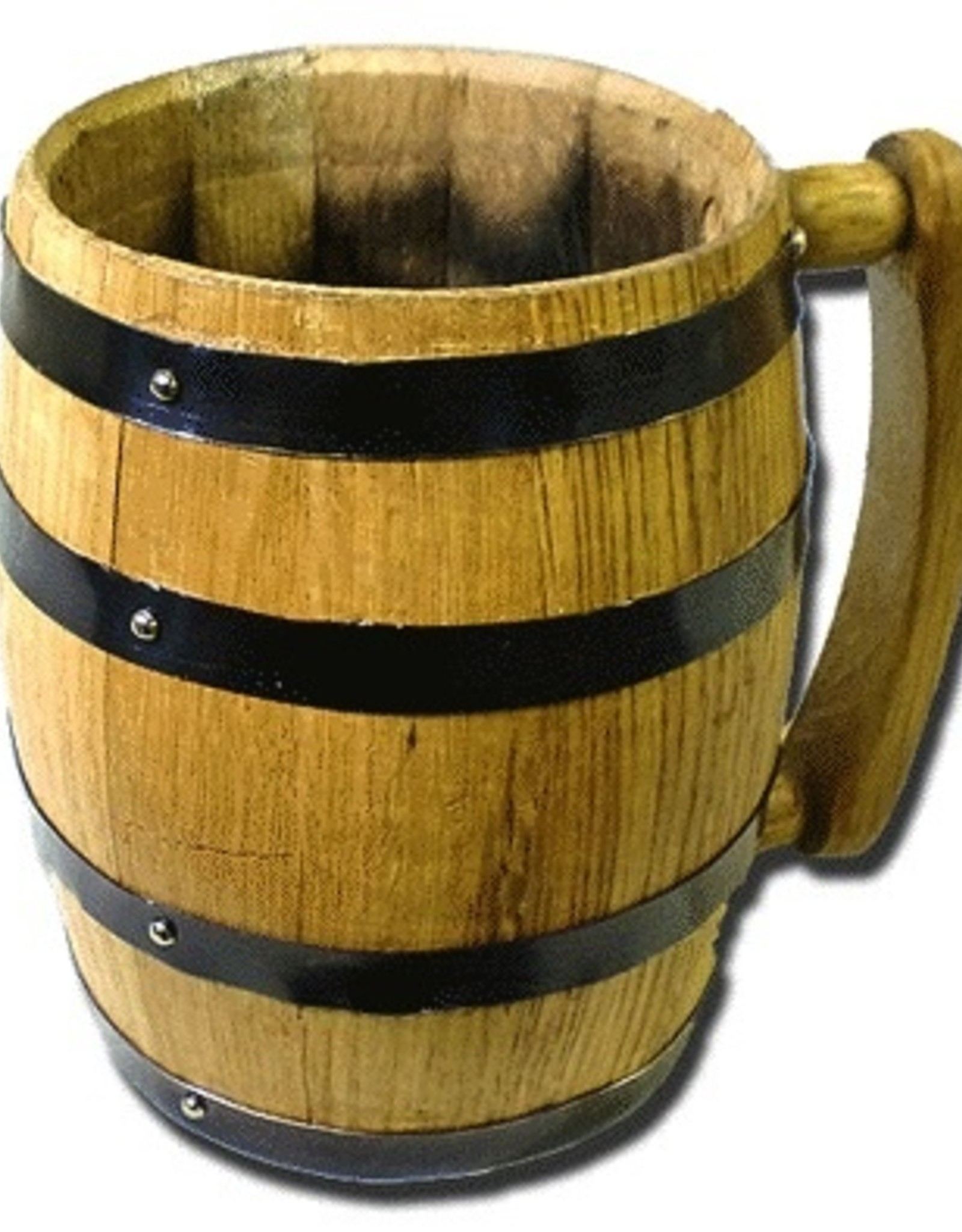 1000 OAKS Barrel Mug w/ Black Hoops<br />