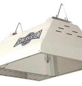SUN SYSTEM Sun System® LEC® 315 Light Fixtures utilize cutting edge Light Emitting Ceramic® technology. Fixture has 98% reflective German aluminum insert and 95% reflective textured corners for excellent output, uniformity and diffusion. Highly efficient agricultura