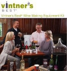 VINTNER'S VINTNER'S BEST WINE EQUIPMENT KIT W/DOUBLE LEVER CORKER