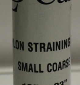 "LD CARLSON SMALL COARSE NYLON STRAINING BAG 10"" x 23"""