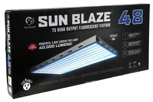 SUNBLAZE Fixtures include FREE pre-installed Spectralux 6500° K lamps.<br />