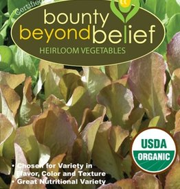 BBB SEEDS Mesclun Greens, Organic Custom Blend