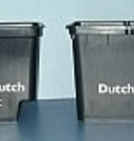 "GRODAN Dutch Pot w/2 elbows Black, 9""H x 12""L x 10""W"
