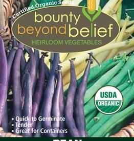 BBB SEEDS Bean, Organic Mardi Gras Bean Blend
