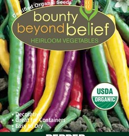 BBB SEEDS Pepper, Organic Fiesta Cayenne Blend