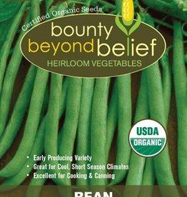BBB SEEDS Green Bean, Organic Contender