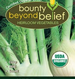 BBB SEEDS HERB, Organic Fennel, Florence
