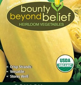 BBB SEEDS Squash, Winter, Organic Vegetable Spaghetti