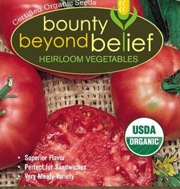 BBB SEEDS Tomato, Organic Pink Brandywine