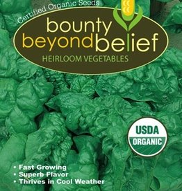 BBB SEEDS Spinach, Organic Bloomsdale