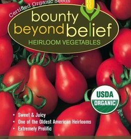BBB SEEDS Tomato, Organic Red Pear