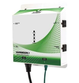 TITAN CONTROLS Absolute total complete control of your grow room from up to 150 feet away without wires, the Hyperion™ 1 Wireless/Environmental/Lighting controller is the solution! Monitor & control the CO2, temperature and humidity during the day & night periods. Then