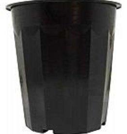 HYDROFARM 16 qt Black Plastic Bucket