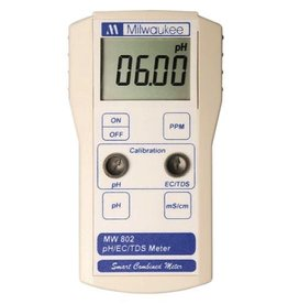 MILWAUKEE Milwaukee Instruments MW 802 Smart 3 in 1 Meter w/pH/EC/TDS