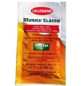 LALLEMAND Munich Classic is a non flocculent strain. In classic open fermentation vessels, the yeast can be skimmed off the top. Some settling can be promoted by cooling and use of fining agents and isinglass. Aroma and flavor have balanced fruity esters and spicy