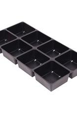 BWGS Standard Flat Insert, 8 Site Square
