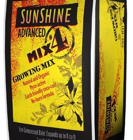 SUNSHINE Formulated with earth-friendly ingredients to retain moisture, provide improved root aeration and drainage, and develop strong, healthy root systems for maximum stem, flower and foliage growth. Peat moss and coconut fiber retain water and nutrients for op