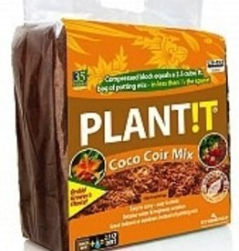 PLANTIT Use this block of organic CoCo Coir planting mix to promote root growth for flowers, vegetables, herbs, and more. It works as both an indoor and outdoor planting mix and is ideal for hydroponics systems. Although each block of mix is equivalent to more th