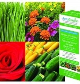 AEROGARDEN AeroGarden 7-Pod Grow Anything Seed Kit, 1 Season
