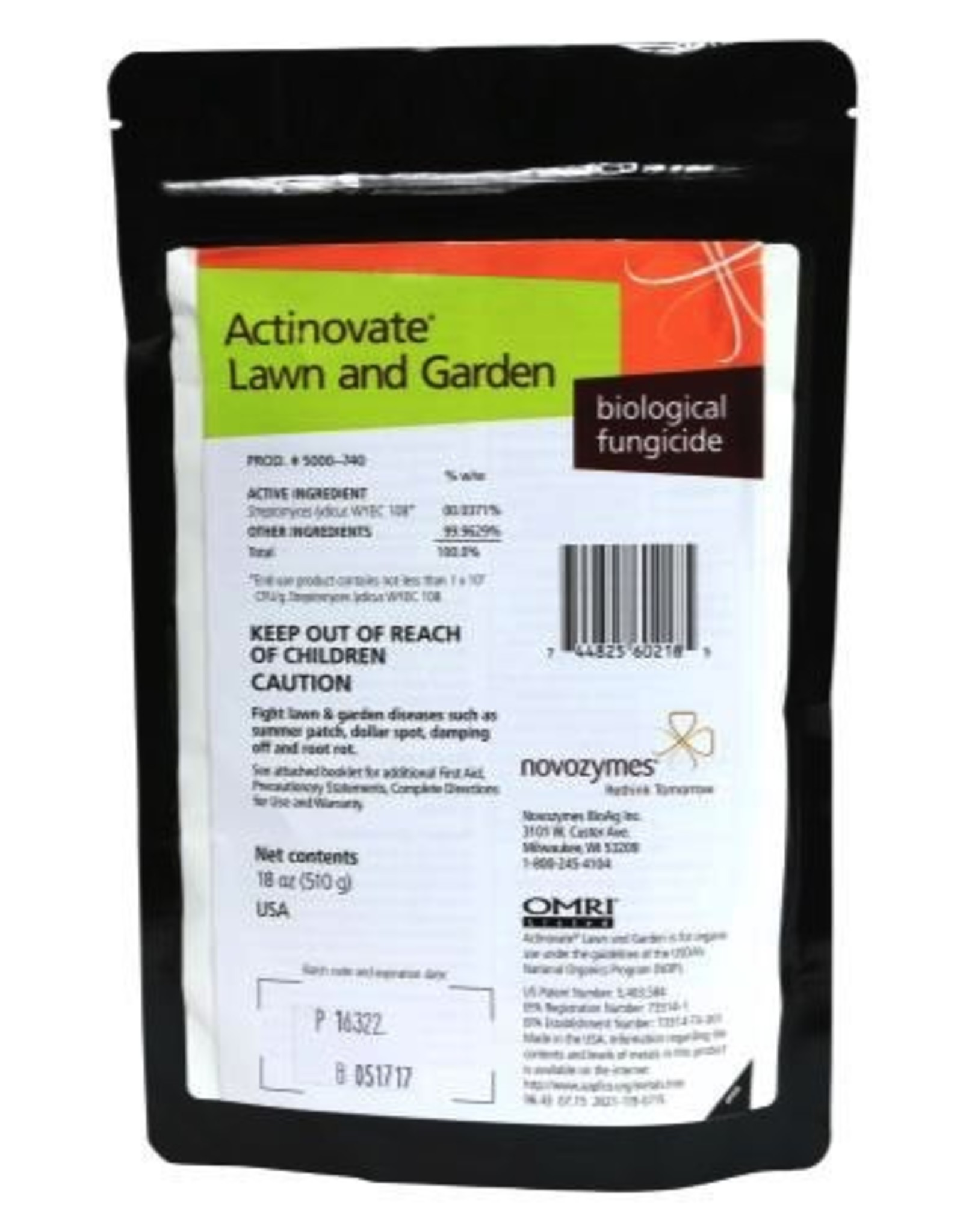 ACTINOVATE Actinovate® L & G contains a high concentration of a patented beneficial microorganism. When applied, the Actinovate® L & G microbe grows on the plant's roots and leaves, living off the plant's by-products while at the same time attacking harmful disease