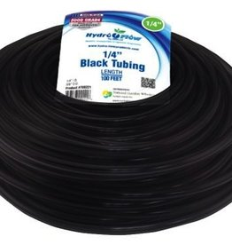 HYDRO FLOW Hydro Flow Vinyl Tubing Black 1/4 in ID - 3/8 in OD 100 ft Roll