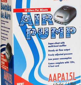 ACTIVE AIR Air Pump with 4 Outlets - 15L/Min