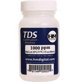 HM DIGITAL HM Digital 1000 ppm TDS Calibration Solution, 3 oz (90 ml)