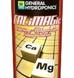 GENERAL HYDROPONICS CALiMAGicTM is a concentrated blend of readily available Calcium and Magnesium. It is formulated to assist fast growing plants by preventing secondary nutrient deficiencies. CALiMAGic helps optimize plant nutrition and enhances plant growth and developmen