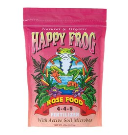 FOX FARM HAPPY FROG ROSE FOOD  4-4-5 (4LBS)