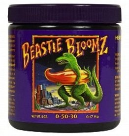 FOX FARM Beastie Bloomz® is a pH balanced blend of extra strength nutrients specially formulated to produce heavy weight fruit and maximize blossom development during the critical last weeks of flowering. Beastie Bloomz® is designed to create unbelievable internal