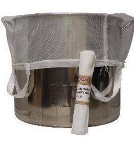 "LD CARLSON BIAB STRAINING BAG WITH HANDLES 24"" X 26""  600 MICRON"